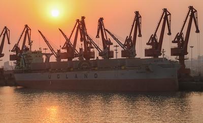 Lanshan Port and Shipping