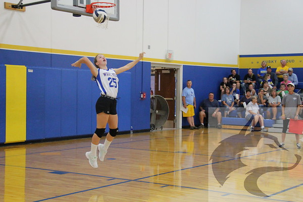 9/17/18 JH Volleyball