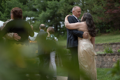 First Dance Reception- Carla Lomangino & Kyle Murray New Endland Wedding Photographer- East Longmeadow Back Yard Ceremony