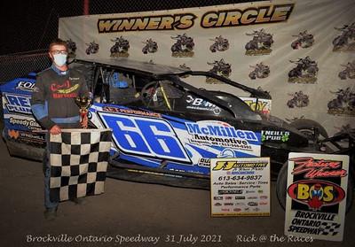Brockville Ontario Speedway - 7/31/21 - Rick Young