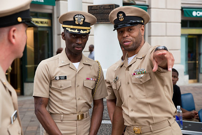 Navy Memorial - Sailor of the Year Pinning Ceremony (2011)
