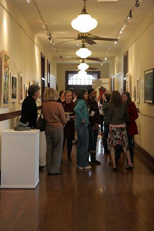 Art Show in Comm Building