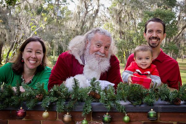 Santa Minis 2018: The Sasse Family!