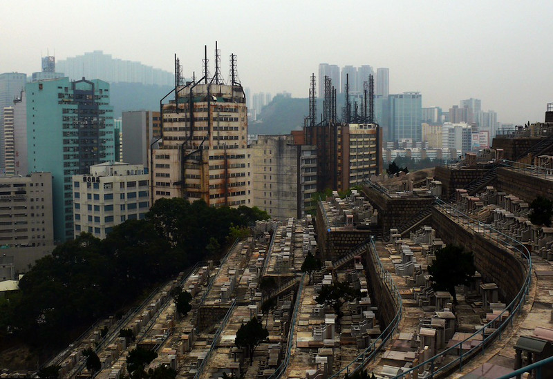 Cemetery and factories, 2009