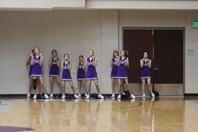 DMS Basketball Cheerleaders 2008-2009