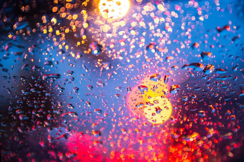 Rainy Evening in Bandung