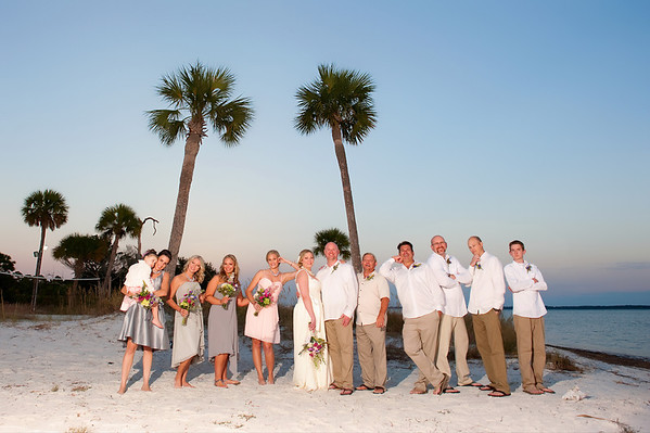 Family and Bridal Party.