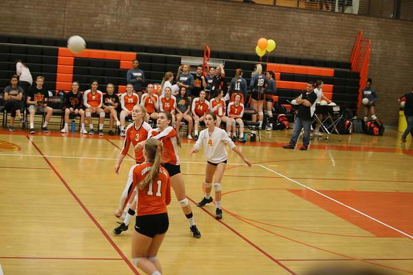 JV Volleyball vs  Gilbert