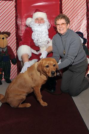 HSGA Photos with Santa 2009