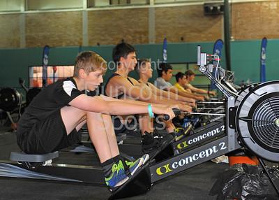 Scottish Indoor Rowing Championship - races 1-5