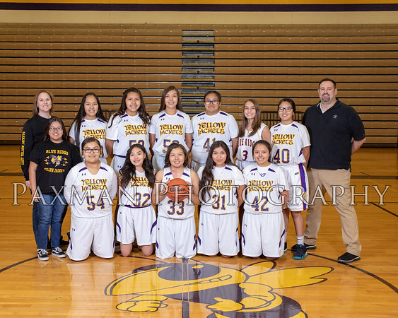 2018 2019 BRHS Girls Freshman Basketball