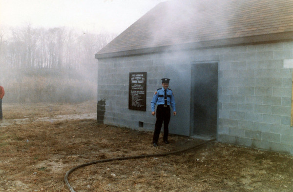 Dedication of Original Burn Building