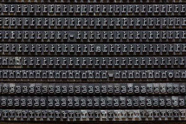Typewriter typefaces - Caratteri dattilografici