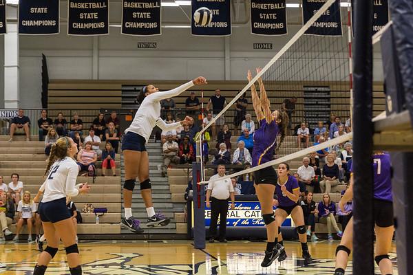 CC Varsity Volleyball vs Guerin 2015-9-16