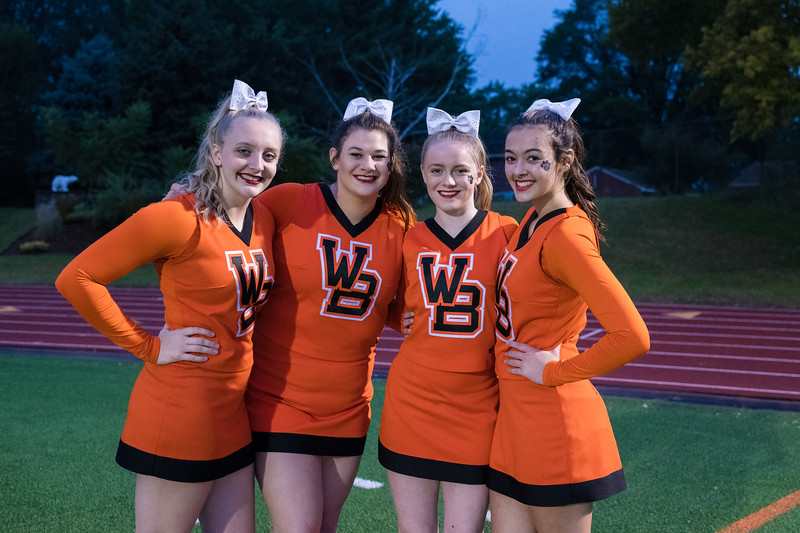 WBL FOOTBALL HOMECOMING GAME PICTURES 2018