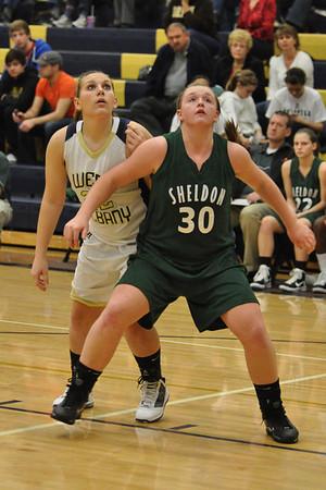 Sheldon vs. West Albany Varsity Girls Basketball