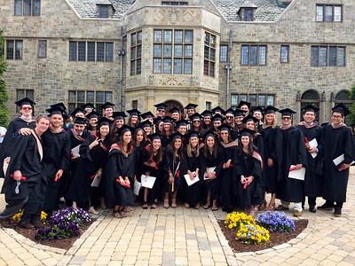 Business School Graduation 2016