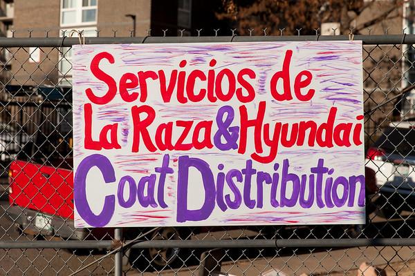Denver Coat Distribution