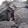 Mielkey Rock climbing trip