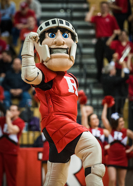 The Scarlet Knight of Rutgers.