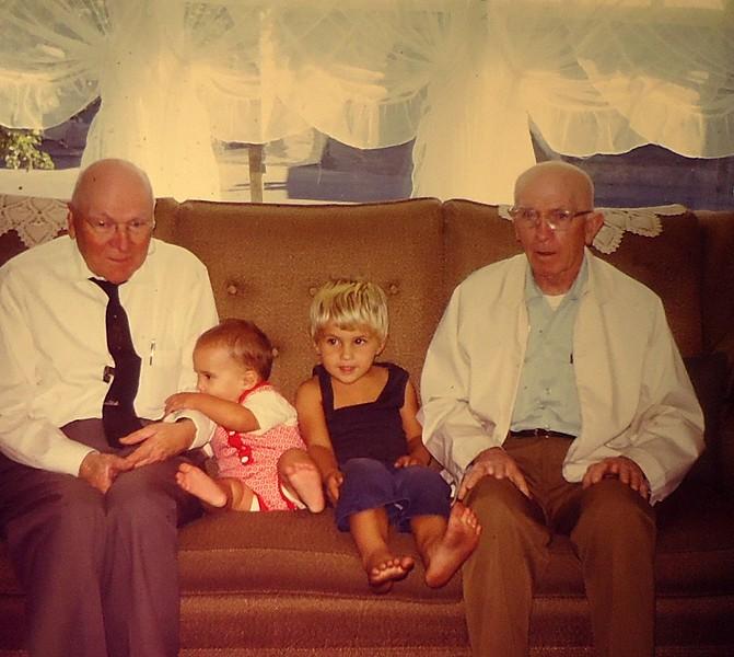 1973 Uncle Harry, Frank.. Bow Owen.JPG