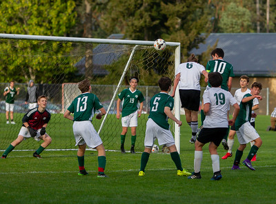 Game Set three: Vashon Island High School Boys Varsity Soccer v Charles Wright - Nisqually League Championship