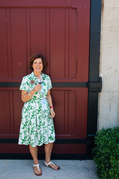 Past Napa Valley Vintners Board Chair Paula Kornell at the 2019 Napa Valley Barrel Auction
