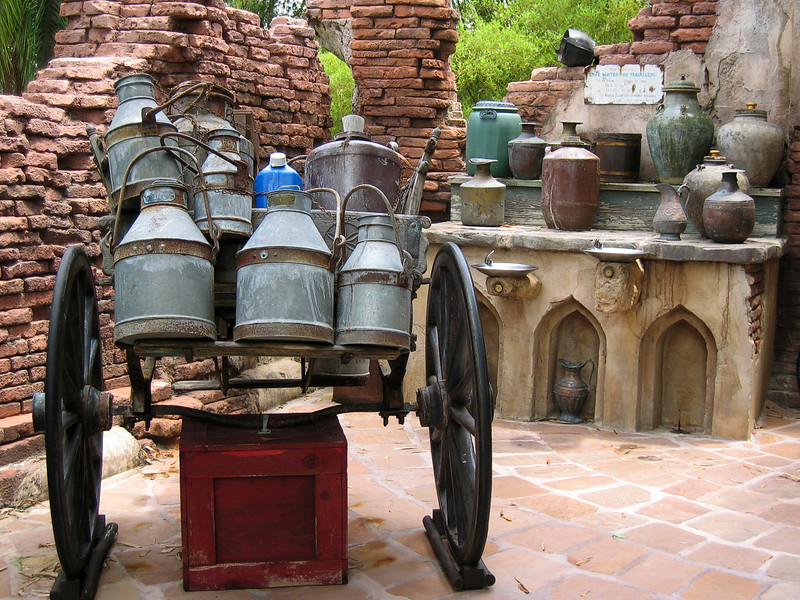 Cart with Jugs   (Apr 23, 2005, 12:49pm)