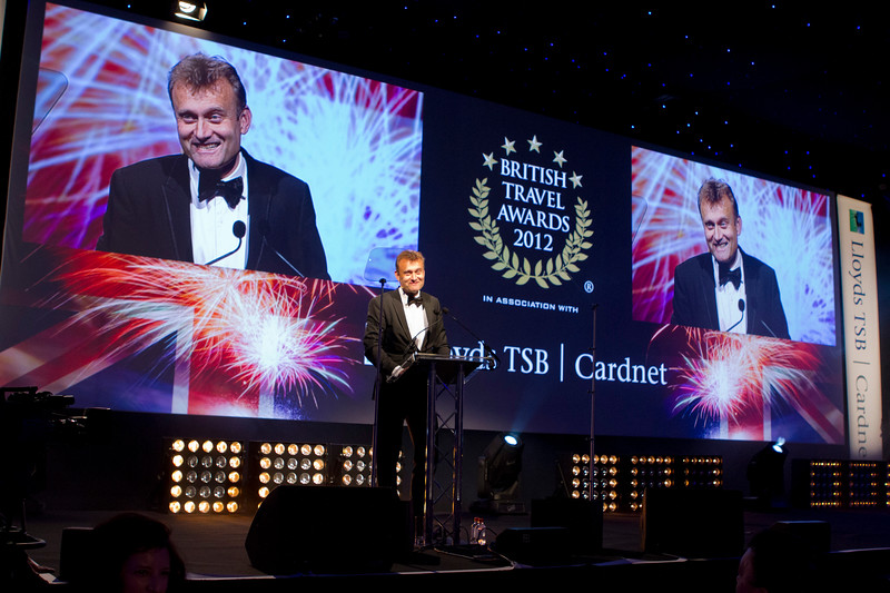 British Travel Awards 2012, Battersea Evolution, 1st November 2012