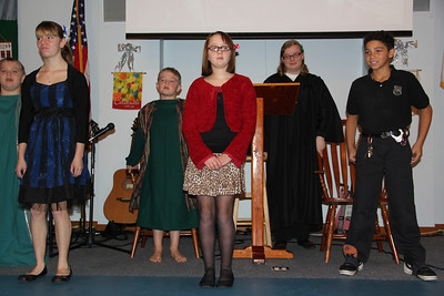 The Not So Silent Night, Performance, New Life Assembly of God Church, Tamaqua (12-23-2012)