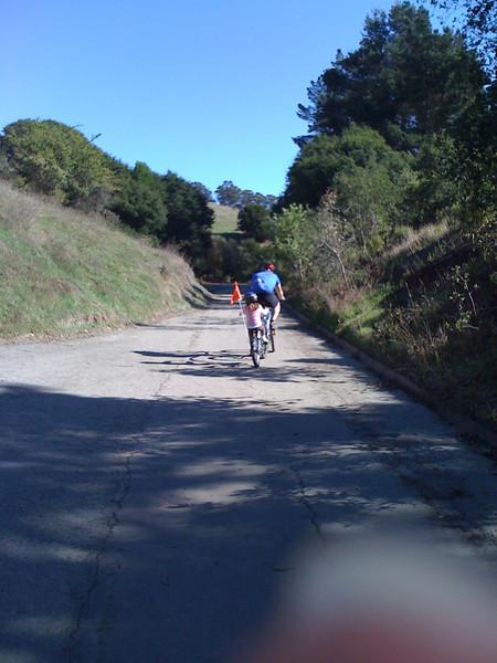 Ride through Wildcat Canyon