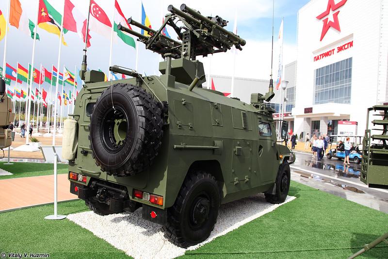 Боевая машина отделения ПЗРК 9А332 Гибка-С (9A332 Gibka-S combat vehicle)