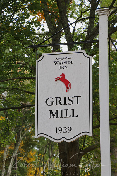 Longfellow's Wayside Inn Grist Mill