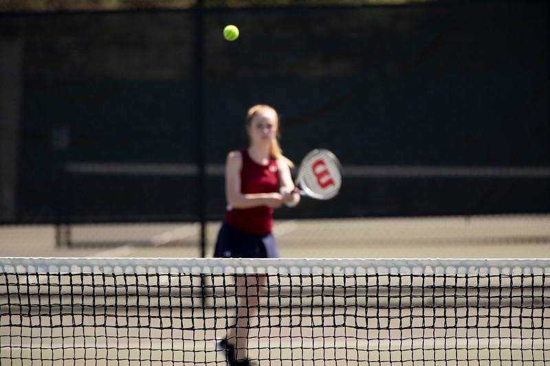 Girls' Thirds Tennis v Canterbury