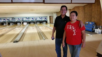 2015-04-11 Bowling with Gramma & Grampa