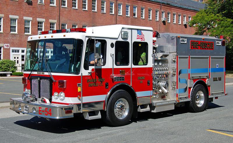 Shaker Pines Station Engine 54 2003 HME/Central States 1500/750