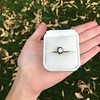 1.14ct Late Victorian Old Mine/Antique Cushion Cut Collet Component 4