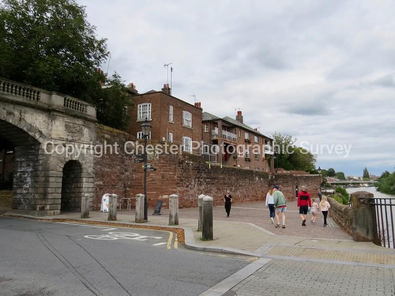 13 Bridge Place: Lower Bridge Street and City Walls