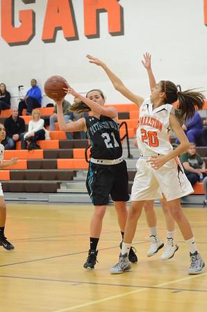 Varsity Girls Basketball Dec 17 vs Fallston