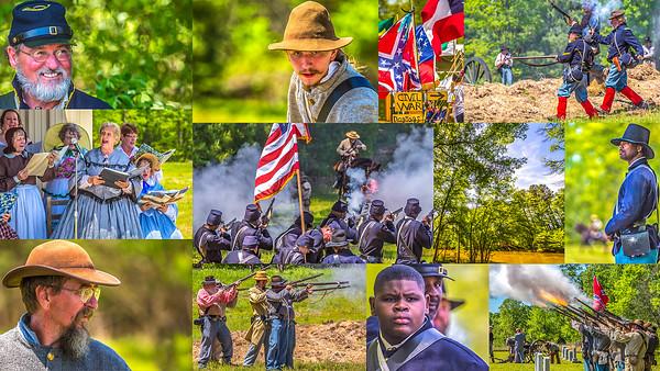 Battle of Jenkin's Ferry  --  Postcard