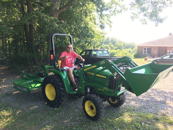 Andy's new tractor