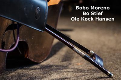 Bobo Moreno, Bo Stief og Ole Koch Hansen