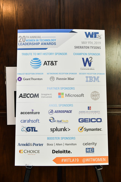 Women In Technology Leadership Awards 2019