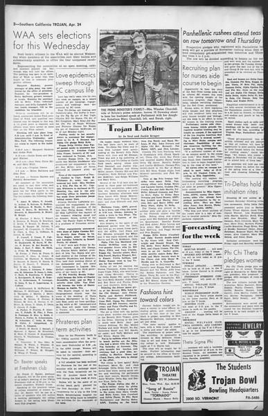 The Trojan, Vol. 35, No. 109, April 24, 1944