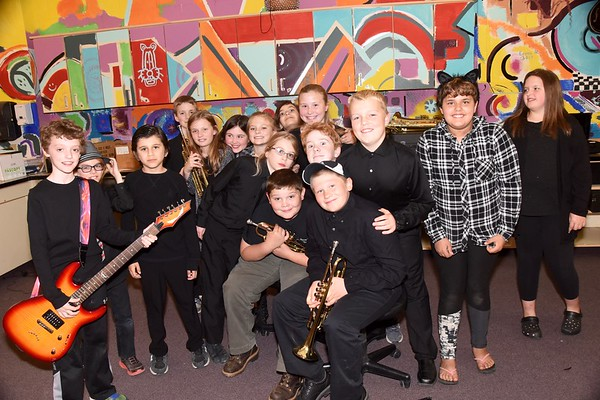 Fisher Musicians Perform At AMHS Music Festival Pre-Concert photos by Gary Baker