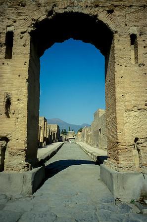 Pompeii Street View
