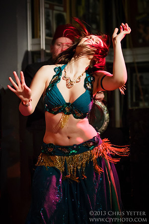 Belly Dance Off! - April 2013