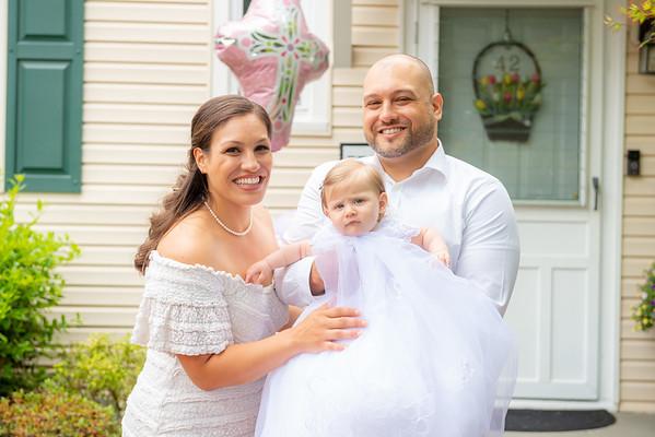 Mila's 1st Baptism