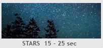 Shutter Speed Chart - Stars (Astrophotography)