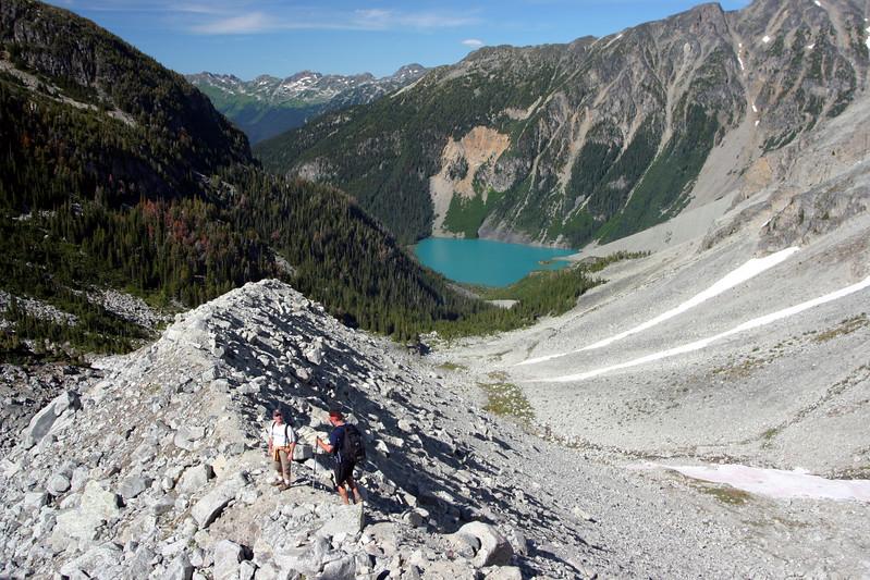 Hiking Taylor Peak